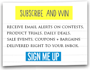 subscribe and win with email alerts
