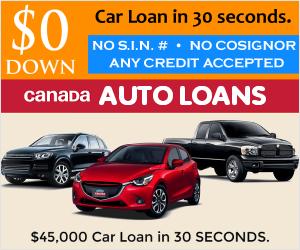Canada Auto Loans