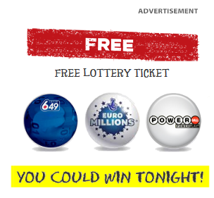 Lotto 6/49, Powerball, Euro Millions, Mega Millions